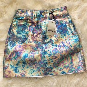 Topshop Moto Mini Skirt